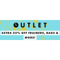 ASOS Outlet - Extra 25% Off Trainers, Bags & More (code)! 40 Hours Only