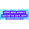 ASOS - Love New Stuff Sale: Up to 50% Off 6915+ Sale Styles e.g. Accessories $4.8, Shorts $5.85, Footwear $7, Dresses $10.4 etc.