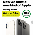 Woolworths Mobile - Buy any iPhone & Get a 1/2 Price SIM Only Plan for 3 Months Plus 1 Year Free Apple TV+ 10% Off Grocery Shopping Every Month