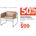 IKEA - Big Clearance Sale: Up to 80% Off Items e.g. INDUSTRIELL Armchair $99 (Was $199); DOCKSTA 105cm Table $150 (Was $299) etc.