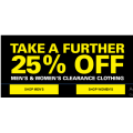 Harris Scarfe - Take a Further 25% Off Men & Women's Clearance Clothing