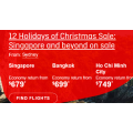 Qantas - The Asia Christmas 2019.Sale: Up to 30% Off International Return Flight Fares