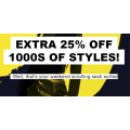 ASOS - Outlet Sale: Extra 25% Off Sale Items (code)