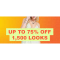 ASOS - Flash Sale: Up to 75% Off 1,500 Items e.g. Accessories $4.2; Dress $6; T-Shirt $7; Skirt $7.2; Footwear $9.45 etc.