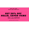 ASOS - 3 Days Sale: 20% Off Everything (code)