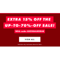 ASOS - Take an Extra 15% Off Sale Items (code)! Today Only