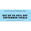 ASOS - September Steal Sale: Up to 40% Off 4000+ Sale Styles (Adidas; Calvin Klein; Fila; Nike; Puma; Reebok etc.)
