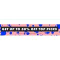 ASOS - Top Pick Sale: Up to 50% Off 5450+ Sale Styles: Accessories $7; Bikini $9.6; Singlet $12.8; Footwear $14 etc.