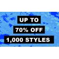 ASOS Outlet - 24 Hours Flash Sale: Up to  to 70% Off 1,000 Styles: Bikini $7; Tops $11.2; Bodysuit $12.5; Sweatshirt $12.5 etc.