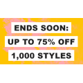 ASOS - Timed Sale: Up to 75% Off 1000's Styles: Bikini $6; Dress $8; Sweatshirt $10; Tops $10.5 etc.