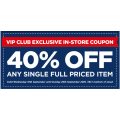 Spotlight VIP Exclusive - 40% Off Any Full Priced Item (Printable Coupon)