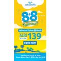 Cebu Pacific Air - 8.8 Sale Anniversary Sale: Return Flights to Manila from $229