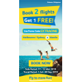 Cebu Pacific - Book 2 Flights Get 1 Free to Manila, Philippines (code)