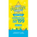 Cebu Pacific Air - Fun Fest Seat Sale: Fly to Manila from $349.27 Return