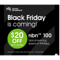 Aussie Broadband - Black Friday 2020: $20 Off per month on NBN100 for 6 Months (New Customers Only)! Starts Fri 27th Nov