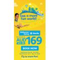 Cebu Pacific - Fun World Sale: Return Flights to Philippines from $289