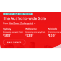 Qantas - Australia-Wide Sale: Domestic Flights from $109 e.g. Gold Coast to Sydney $109