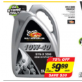 Autobarn - Gulf Western Oil Syn-X 3000 10W40 5LT $9.99 (Was $39.99)! In-Store Only