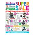 Baby Bunting Super Sale - plus $9 Online Flat Delivery Fee Starts 24th Sept Deals in Post