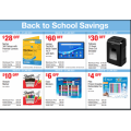 Costco - Back to School Sales Coupons - Valid until Sun 31st Jan