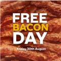 Subway - FREE BACON DAY: Free Streaky Bacon with any Purchase! Fri 30th Aug