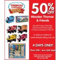 Baby Bunting - 50% OFF Wooden Thomas & Friends!