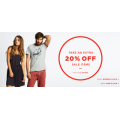 Take an Extra 20% off on SALE Items @ Elwood!