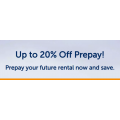 Budget Car Rental - Up to 20% Off Prepay Booking (Valid until 31st August 2020)