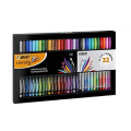 [Prime Members] BIC 972135 Intensity Writing Felt Tip Pen Set Fine and Medium Points Set Of 32- Assorted Colours, Gift Set $24 Delivered (Was $40) @ Amazon