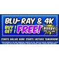 JB Hi-Fi - Buy One Get One Free Blu-Ray & 4K Ultra HD - Starts Online & In-Store