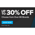 Bodybuilding.com - Up to 30% Off Over 80 Brands - 3 Days Only
