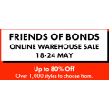 Bonds - Online Warehouse Sale: Up to 80% Off Over 1000's of Styles & Free Shipping for Members