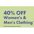 Bonds - Flash Sale: 40% Off Women's & Men's Clothing + Free Shipping for Bonds & Me Members