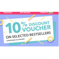 Book Depository - 10% Off Bestseller Books (code)! 5 Days Only