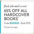 Snapfish - Flash Sale: 65% Off all Hardcover Photo Books (code)
