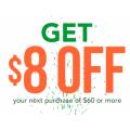 Booktopia - Weekend Sale: $8 Off Orders - Minimum Spend $60
