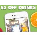 Boost Juice - $2 Off Drink with Instagram Filtered Stories - Valid until Fri 21st Feb