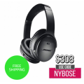 Wireless 1 - New Year Special: Bose QC35 QuietComfort 35 II Wireless Headphones $308 + Free Shipping (code)! Was $499