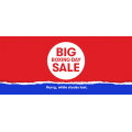 Big W - Boxing Day Sale 2020 - Starts Online & In-Store Fri 25th Dec 2020