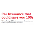 20% Off Gold Comprehensive Car Insurance Purchase @ Budget Direct