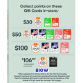 "Big W - 2000 Everyday Rewards (Worth $10) with $100 ""Swap"" Gift Card (Swap for eBay Gift Card)!"