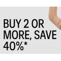 Calvin Klein - Buy 2 or More, Save 40% Off Orders Including Already Reduced Styles
