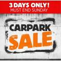 Anaconda - 3 Days Carpark Sale: Up to 70% Off Sale Items e.g. Spinifex Dreamline Double High Airbed $59 (Was $169.99); OZtrail Gibson XL Sleeping Bag $99 (Was $299.99) etc.