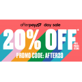 City Beach - Afterpay Day Sale: 20% Off Everything (code)