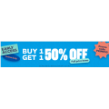 City Beach - Early Access: Buy One Get One 50% Off Full Priced Items (code)! 2 Days Only