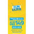 Cebu Pacific - Fun Sale: Fly to Manila from $249.22 Return