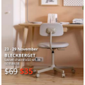 IKEA - Latest Markdowns Sale: Up to 50% Off Clearance Items + Extra $10 Voucher e.g. BLECKBERGET Swivel Chair $35 (Was $69) etc.