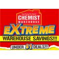 Chemist Warehouse - Extreme Warehouse Saving: Under $1 Deals
