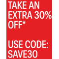 Calvin Klein - Flash Sale: 30% Off Storewide Including Already Reduced Items (code)