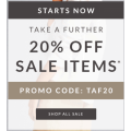 Clarks - End of Season Sale: Take a Further 20% Off on Up to 70% Off Sale Items (code) e.g. Cloud Aklark Shoes $23.2 (Was $119.95) etc.